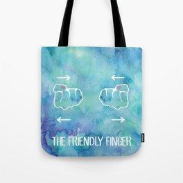 Friendy Finger Tote Bag