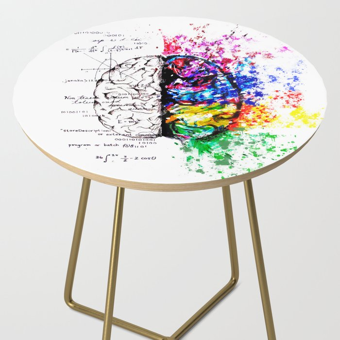 Conjoined Dichotomy Side Table