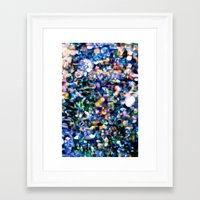 sparkle Framed Art Prints featuring Sparkle by Stephen Linhart