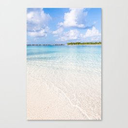 Tropical Beach Paradise Canvas Print
