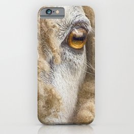 Sheep 2 iPhone Case