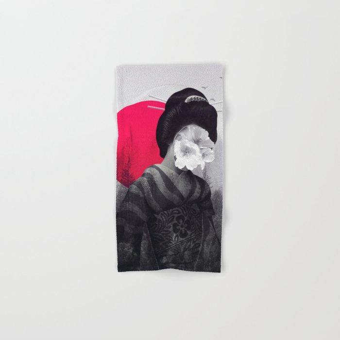 the geisha Hand & Bath Towel