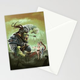 Orc problems Stationery Cards