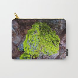Clinging to Stone (Lichen) Carry-All Pouch