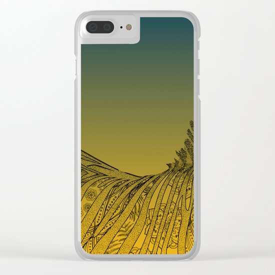 Zebra Design Clear iPhone Case
