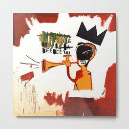 Basquiat Trompette Metal Print