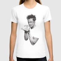 tyler durden T-shirts featuring Tyler Durden II by Rik Reimert