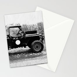 1955 Land Rover - Mavis Stationery Cards