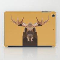 moose iPad Cases featuring Moose by Alysha Dawn