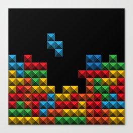 Tetris Blocks Canvas Print