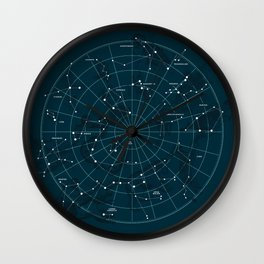 Space Hangout Wall Clock