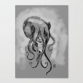 Octogirl Canvas Print