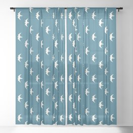 Peregrine (Pacific) Sheer Curtain
