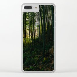 Kiso Valley Shadows Clear iPhone Case