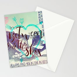 In Between artwork Stationery Cards