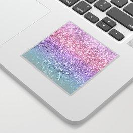 Unicorn Girls Glitter #1 #shiny #pastel #decor #art #society6 Sticker