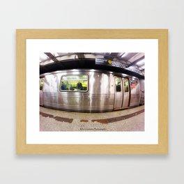 Brooklyn & Downtown Framed Art Print