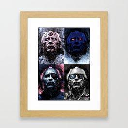 The Horror Master Framed Art Print