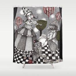 Alice's After Tea Concert Shower Curtain