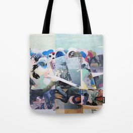 Man Down Tote Bag