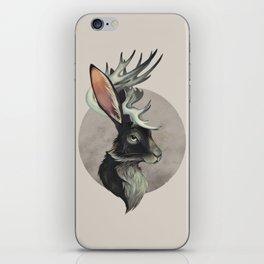 Jackalope Bust iPhone Skin