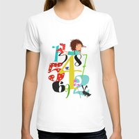 numbers T-shirts featuring Emmas Numbers by Elisandra