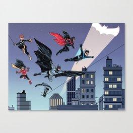 Batfam Forever Canvas Print