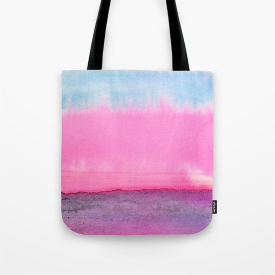 Abstract Landscape 90 Tote Bag