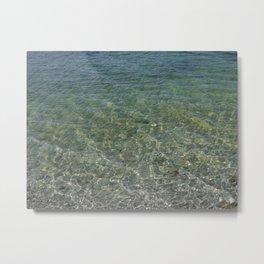 Lake Water Metal Print