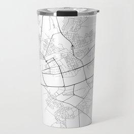 Minimal City Maps - Map Of Brest, Belarus. Travel Mug