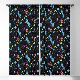 90s Arcade Carpet Blackout Curtain