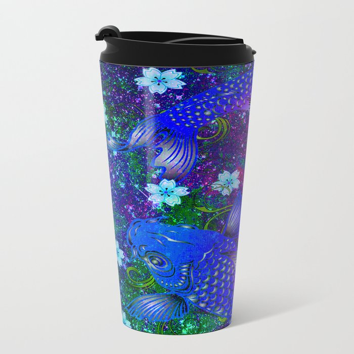 KOI Metal Travel Mug