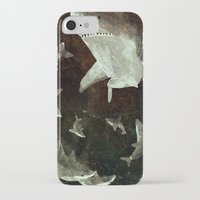 sharks iPhone & iPod Cases featuring sharks by Lara Paulussen