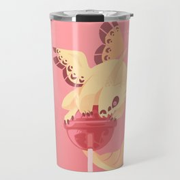 Dragonpop creamy death strawberry Travel Mug