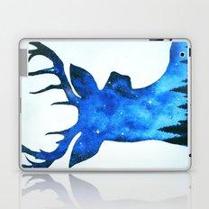 Spirit Deer // Space Antlers // Galaxy Stag // Double Exposure Deer Laptop & iPad Skin