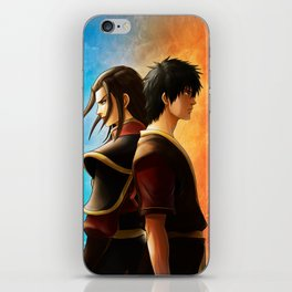 Azula and Zuko iPhone Skin