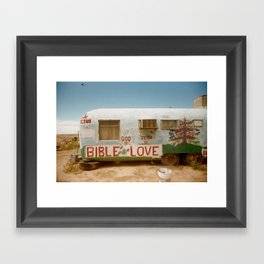 LOVE T R A I L E R Framed Art Print