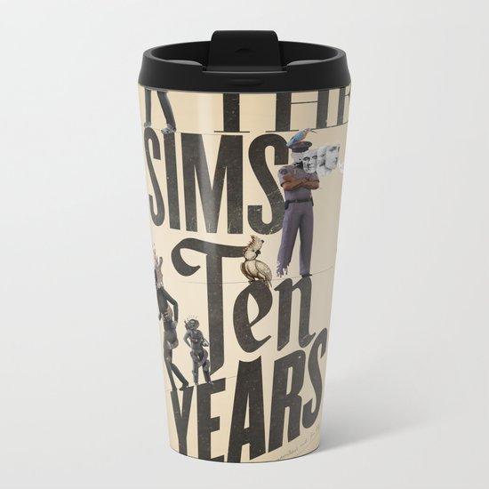 Surreal Metal Travel Mug
