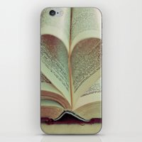 literary iPhone & iPod Skins featuring i heart books by shannonblue