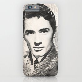 Gregory Peck, Hollywood Legend iPhone Case
