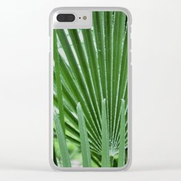 European Palms Clear iPhone Case