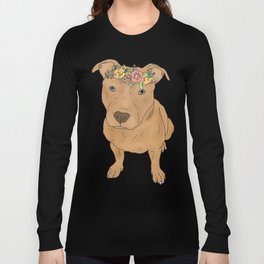 Colourful Pit Bulls, Pit Bulls Gift Long Sleeve T-shirt