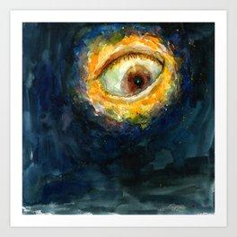 The Moon Eye Art Print