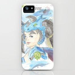 League of Legends - Vayne Watercolour iPhone Case
