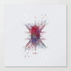 Inknograph I - Ink Blot Art Canvas Print