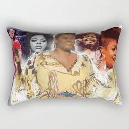 Jill Scott Rectangular Pillow