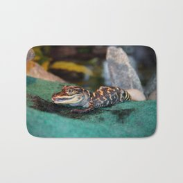 Baby Alligator Eating Bath Mat