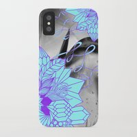 geode iPhone & iPod Cases featuring Geode 1 by michiko_design