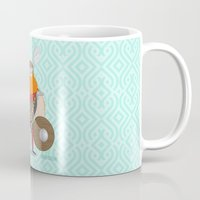 viking Mugs featuring Viking by valriquelme