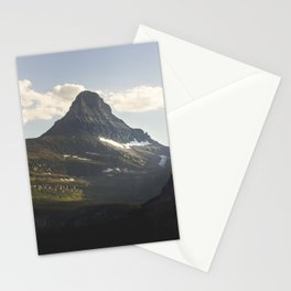 Glacier Mountain Stationery Cards